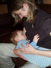 Breast feeding for bonding and best start without allergies or asthma