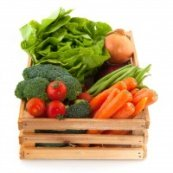 Eat MORE vegetables with vitamin E and zinc to protect from Macular Degeneration and aging eye problems