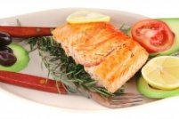 Eating fish for blood thinning foods