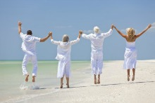 D vitamin benefits seniors and prevents falling and breaking bones.