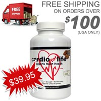 BUY heart health supplement for high cholesterol, blood pressure and blood clots