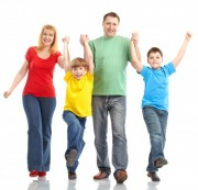 Whole family exercise for high cholesterol prevention