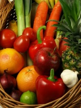 Fruits and vegetables are natural remedies for blood clots