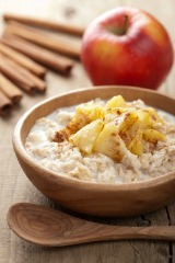 Get the health benefits of cinnamon by adding to cereal and sliced apples for snacks
