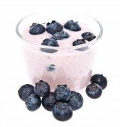 Yogurt for good gut bacteria and calcium for high blood pressure and weight loss