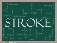 Stroke causes for underlying cause of high cholesterol: low glutathione